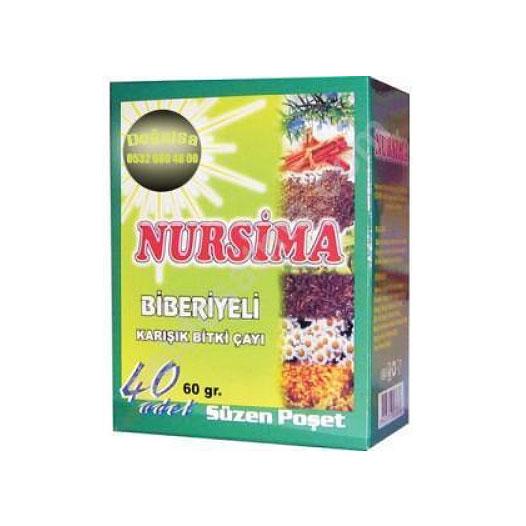 Nursima Biberiyeli Zayiflama Çayı