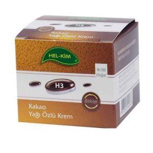 H3 Kakao Yağı Özlü Krem